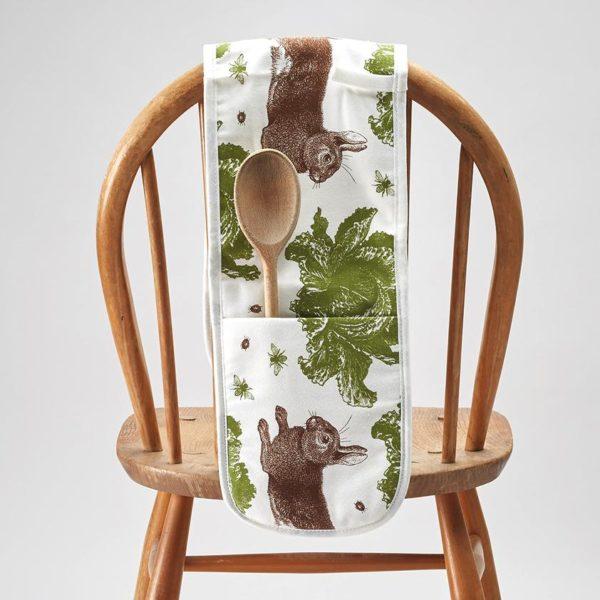 Thornback & Peel Rabbit & Cabbage Oven Gloves - PTES